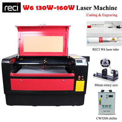 130W Laser Engraving Cutting Machine Ruida 6442 Support Offline Work Honeycomb