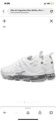 check out aa3fa 675bc TRIPLE WHITE NIKE Vapormax Tn | Limited Stock Available