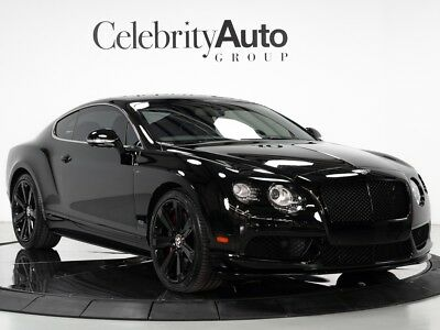 """2015 Continental GT V8 S """"Concours Series"""" Limited Edition 2015 BENTLEY CONTINENTAL GT V8 S CONCOURS SERIES"""