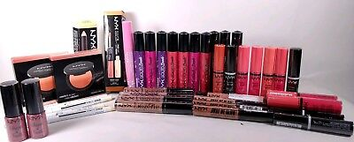 NYX - BULK Mixed Makeup Box Lot - Liquidation Wholesale - 42 pieces total