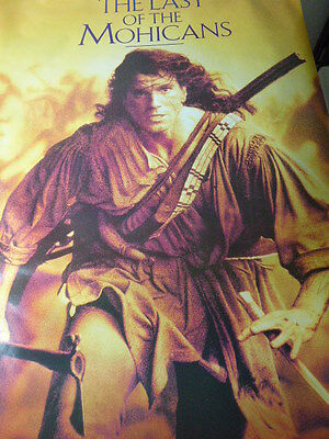"The LAST OF THE MOHICANS ""GIANT"" 45in.X 65in.ORIGINAL MINT poster !!!"