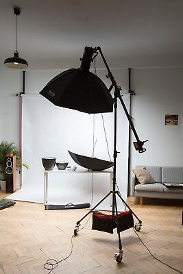 Hensel Compact Flash 1800 // Studioblitz inkl. Phottix Softbox 140 cm //