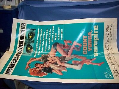 Mistresses Of The Deathmaster One Sheet Poster 1970 Rare