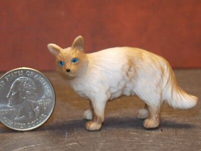 Dollhouse Miniature Pet Cat Angora Animals1:12 1 inch scale G36 L Dollys Gallery