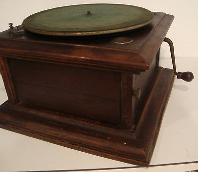 Columbia Graphophone record player Vintage Antique for parts or to restore