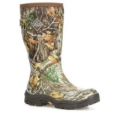 Muck Womens WWM-RTE Woody MAX XF Alpine Wide Calf Tall Camo Boots Hunting Gusset