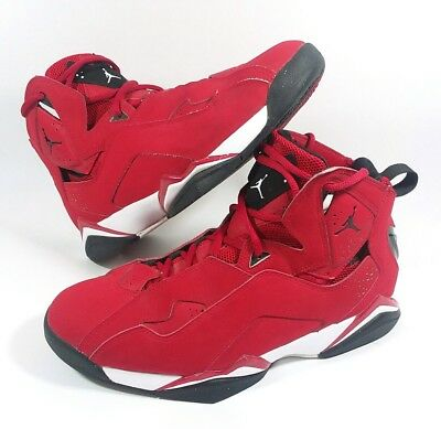 4767da72bf29aa Nike Jordan True Flight Red Black Basketball Shoes 342964-620 - Men s Size 8