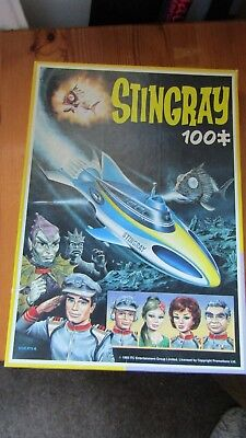 Vintage STINGRAY Jigsaw Puzzle 1993 100 Pieces Made by KING [Holland] Complete