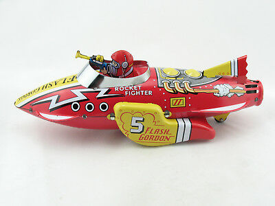 Blechspielzeug - Flash Gordon Rocket Fighter Ship, Schyllings Original  5651326