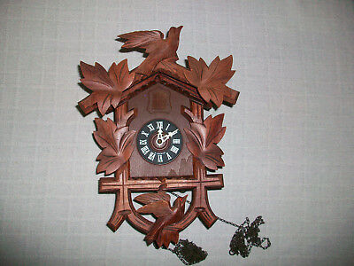 West Germany Cuckoo Clock for Repair Parts