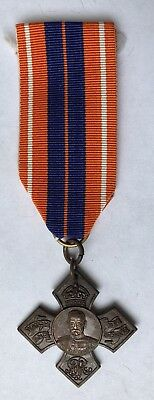BRITISH WW1 Earl Roberts Cross MEDAL, Bronze On Ribbon UK