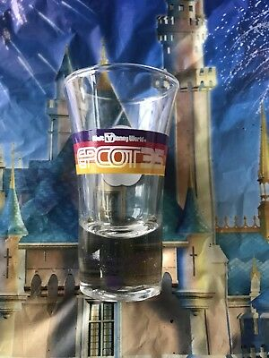 Disney Parks EPCOT 35th Anniversary Shot Glass Cup NEW