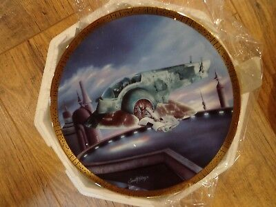 Star Wars The Hamilton Collection Slave 1 Plate