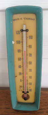 Bruce Seabright Wheeling, WV Thermometer