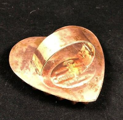 Country Living COPPER COOKIE CUTTER DOUBLE HEART Vintage
