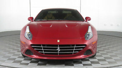 2015 Ferrari California T  2015 Ferrari California T, Rosso California over Beige, 1 Owner, Gorgeous!
