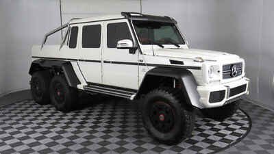 2014 Mercedes-Benz G-Class 4MATIC 4dr G 63 AMG 2014 G63 AMG 6x6 Only 3k Miles 1 Owner All Docs From DOT