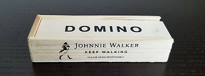 Collectible Johnnie Walker Black Label Scotch Domino Gift Set | Free Shipping
