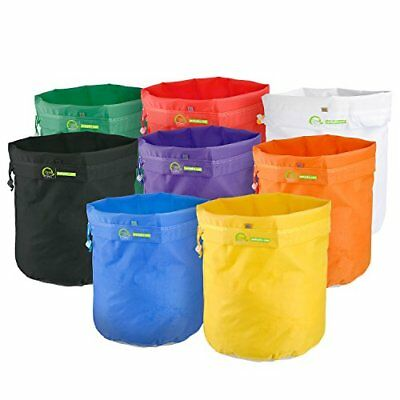 VIVOHOME 5 Gallon 25 to 220 Micron Ice Bubble Herbal Extraction 8 Harsh Bag Sets with Carry Bag and Pressing Mesh Screen