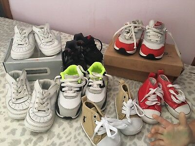 Bundle Of Baby Trainers Nikes Ralph