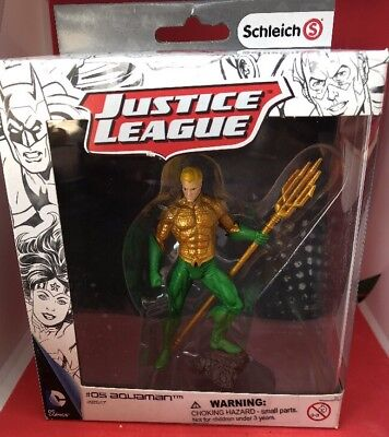 Justice League #5 Aquaman Figure New In Box By Schleich