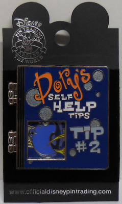Disney Pin DLR Dory's Self Help Tips - Tip #2 ARTIST PROOF Pin New