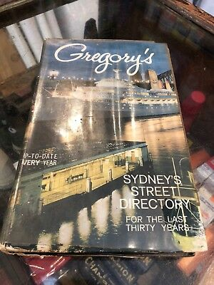 Gregory's Sydney Street Directory 29th Edition Ampol