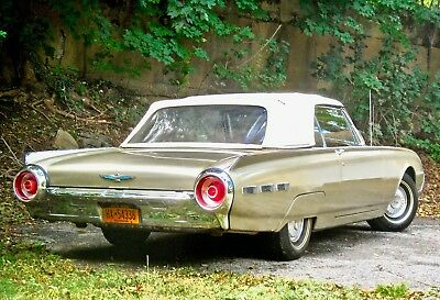 1962 Ford Thunderbird Red Leather pectacular 1962 T-Bird CONVERTIBLE. 42K Miles. Original Top was never down.