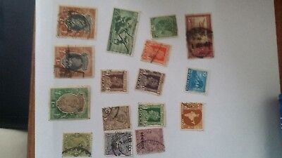 India - old stamps KGVI+others - mixed lot 1