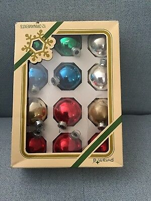 vintage 70's christmas  Bauble decorations