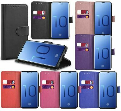 Case For Samsung A10 A40 50 Phone Case Slim Leather Flip Wallet Folio Book Cover
