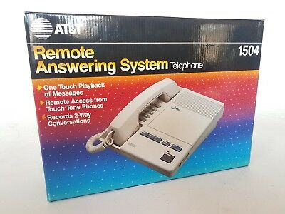 AT&T Remote Answering System Telephone 1504