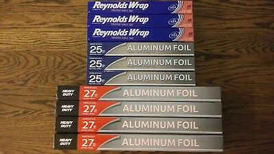 10 Pack - 237 Sq.ft -  Reynolds Wrap Aluminum Foil !!!