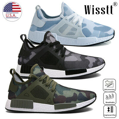 Men Athletic Casual Sneakers Outdoor Running Breathable Sports Shoes USA SELLER