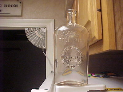 Louis Zripancic - FIRST AND LAST CHANCE - Waterloo Rd. - Strap Side Flask Bottle