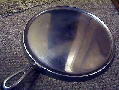Griswold Number 10 Chrome Handled Griddle NICE EXAMPLE Pattern # 610 Erie Pa USA