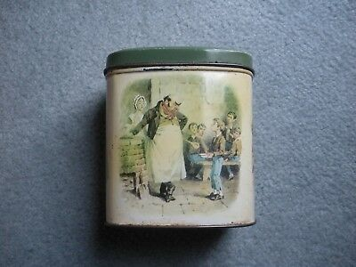 Vintage Retro Kitchenalia Collectable Tin/Tea Caddy - Oliver Twist Made in UK