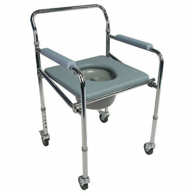 Shower Commode Chair with Wheels -GILANI ENGINEERING