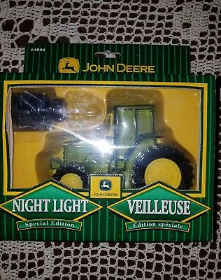 John Deere Night Light Special Edition Tractor #4001