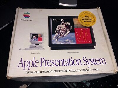 Apple Presentation System - In Box, with Manuals & Cables - Rare Vintage Item!