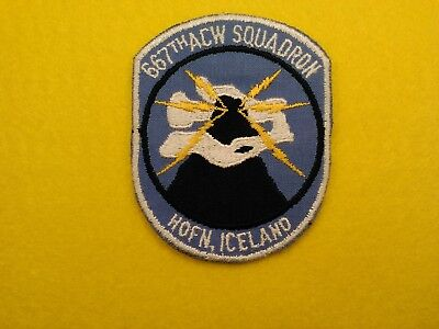 U.s.a.f...667Th Aircraft Control & Warning Squadron. Hofn Iceland 50's-60's. New