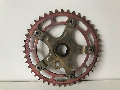 Old School BMX - Alloy Chain Wheel and Spider - 43 Teeth
