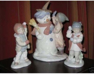 LLADRO Talk To Me #8168, Watch Out Here It Comes #8167, I'll Get You #8166 NRFB