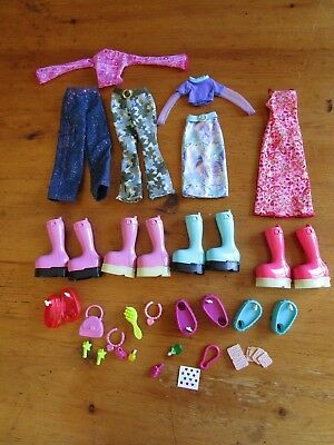 "Mattel DIVA STARZ 11"" Talking Doll CLOTHING/ACCESSORIES *LOT* Shoes Outfit"