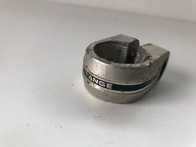 Old School BMX - TANGE Alloy Seat Post Clamp - Silver - Mongoose Redline