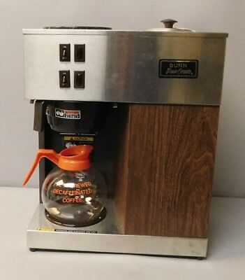 Brown Bunn VPR W/G 120V Pour-omatic Pouromatic Commercial 2 Warmer Coffee Maker