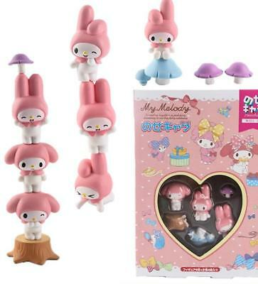 Cute My Melody Figures Play Toy Doll Cake Toppers Set Collective Gift Decoration