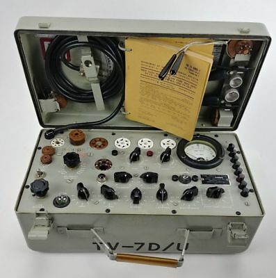 Very clean excellent accurate tv7d/u tube tester