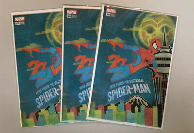 LOT 3 Spider-Man #300 NM+ Seattle MoPoP Museum Edition Variant MARVEL COMIC BOOK
