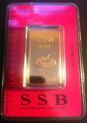 1 oz .999 Solid Copper Bullion Certified Ingot (Brown Snake) 8 To Collect